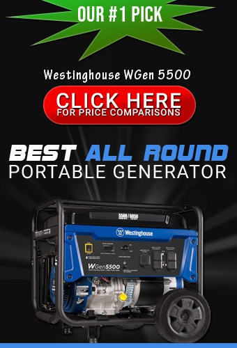 The Westinghouse WGen5500 portable generator