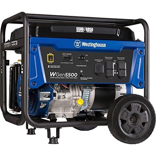 10PowerUp - Westinghouse Wgen5500 Portable Generator