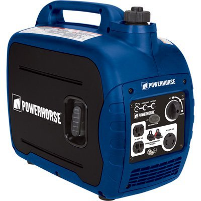 the gas powered portable Powerhorse generator