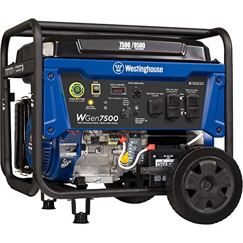 the Westinghouse WGen7500 portable generator