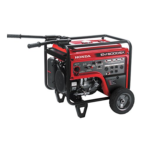 Honda 660530 5,000-Watt Portable Generator w/ iAVR Technology (CARB)