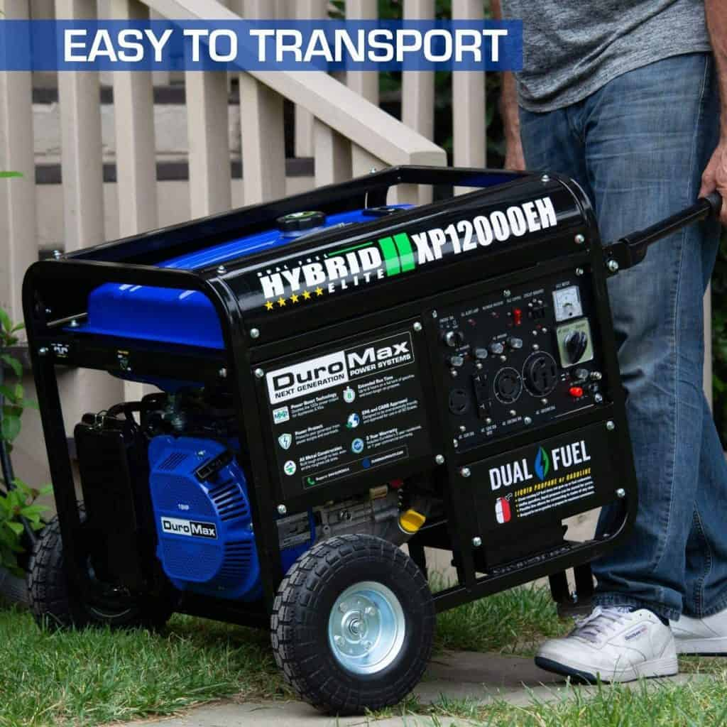 XP12000EH our top rated DuroMax Generator