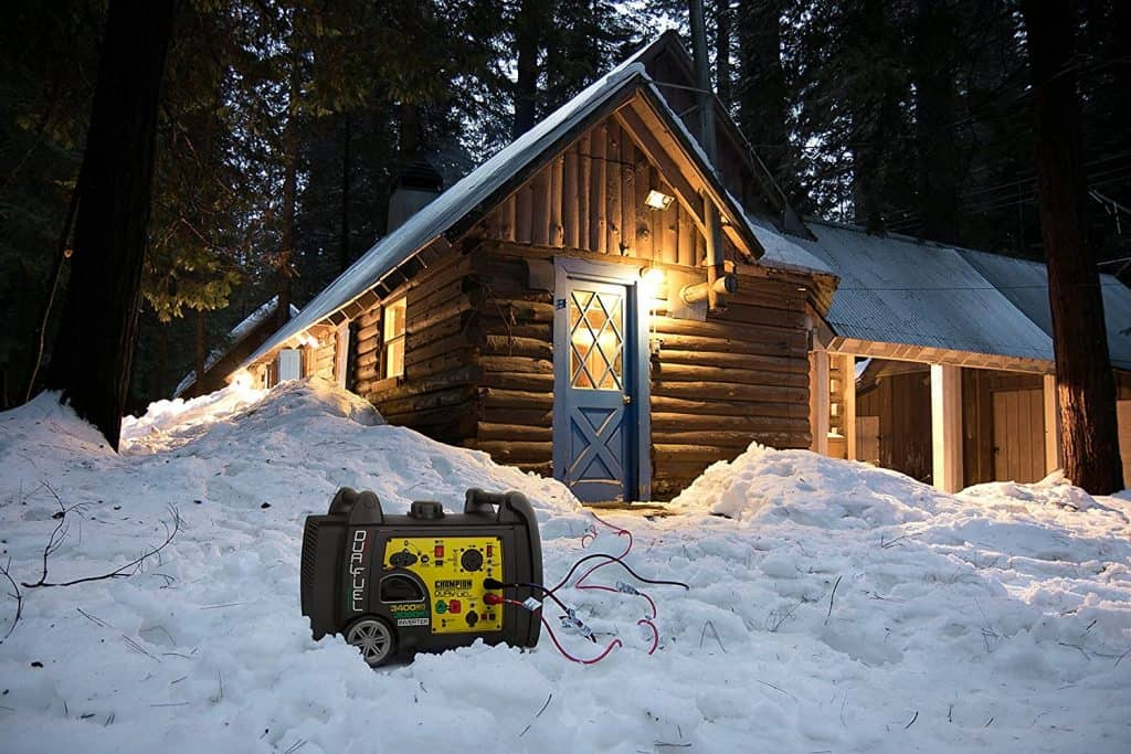How to Select The Right Generator For Your RV - the champion 3800 is good in all weather