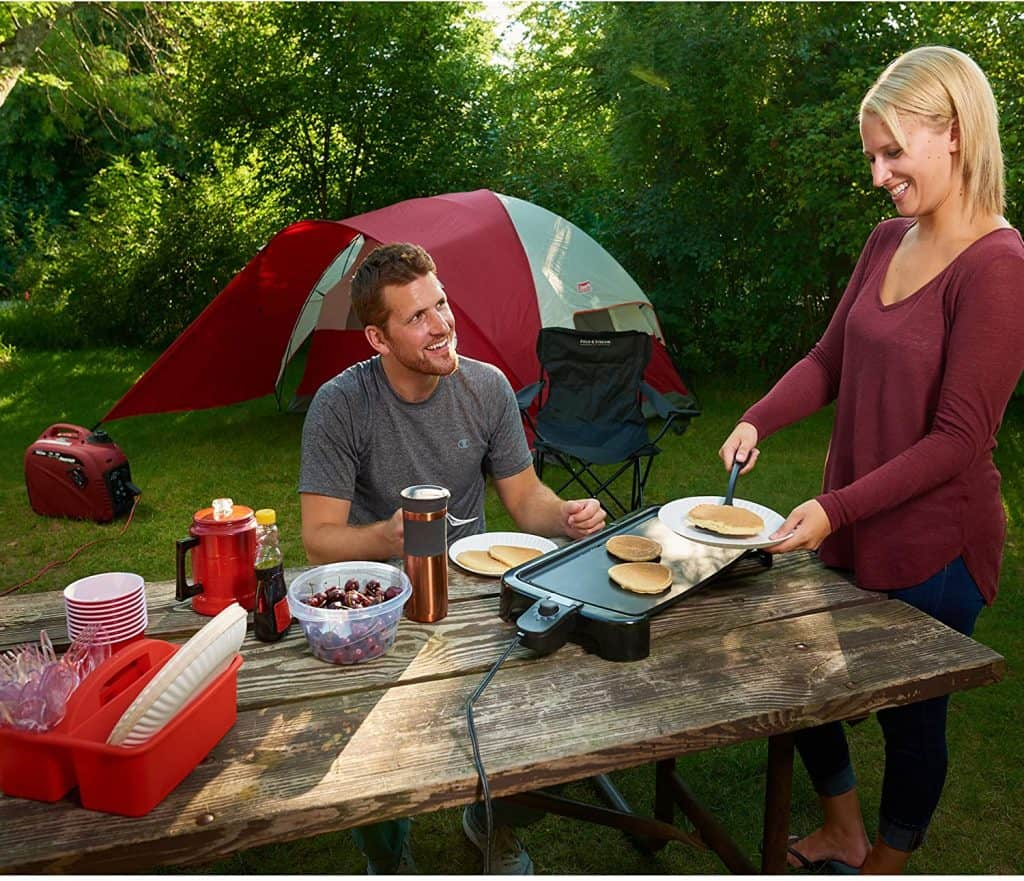 make camp cooking a breeze with the powermate pm2200i generator