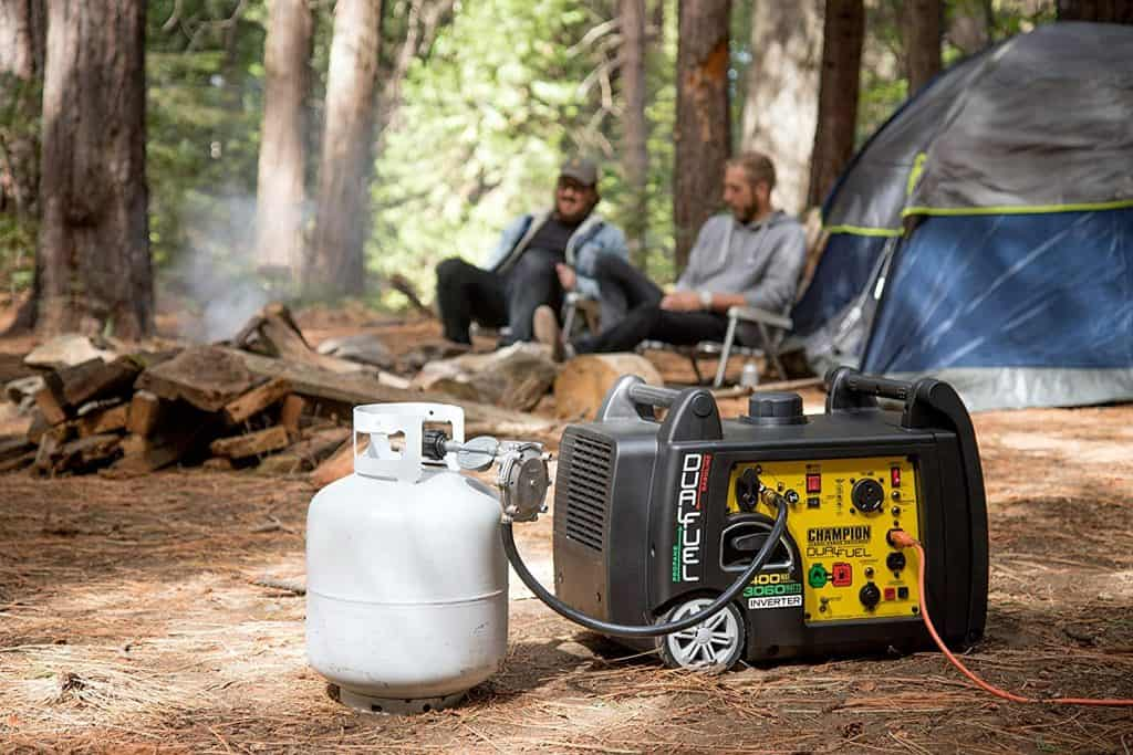 How to Select The Right Generator For Your RV - camping with your Champion 3800