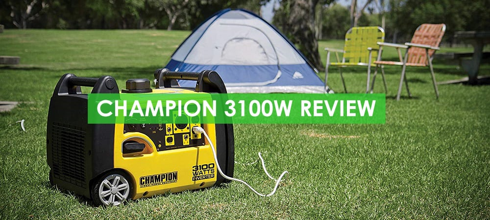 Champion 3100W Generator Review