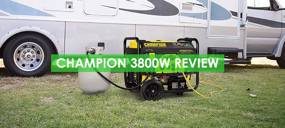 Champion 3800W Generator Review