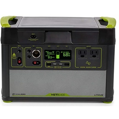 Goal Zero Yeti 1400 Solar Generator