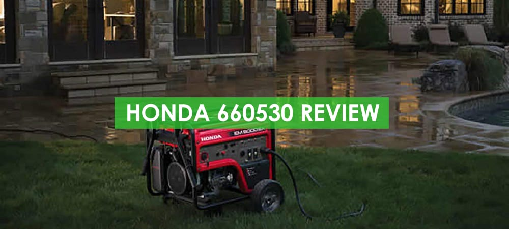 Honda 660530 Generator Review