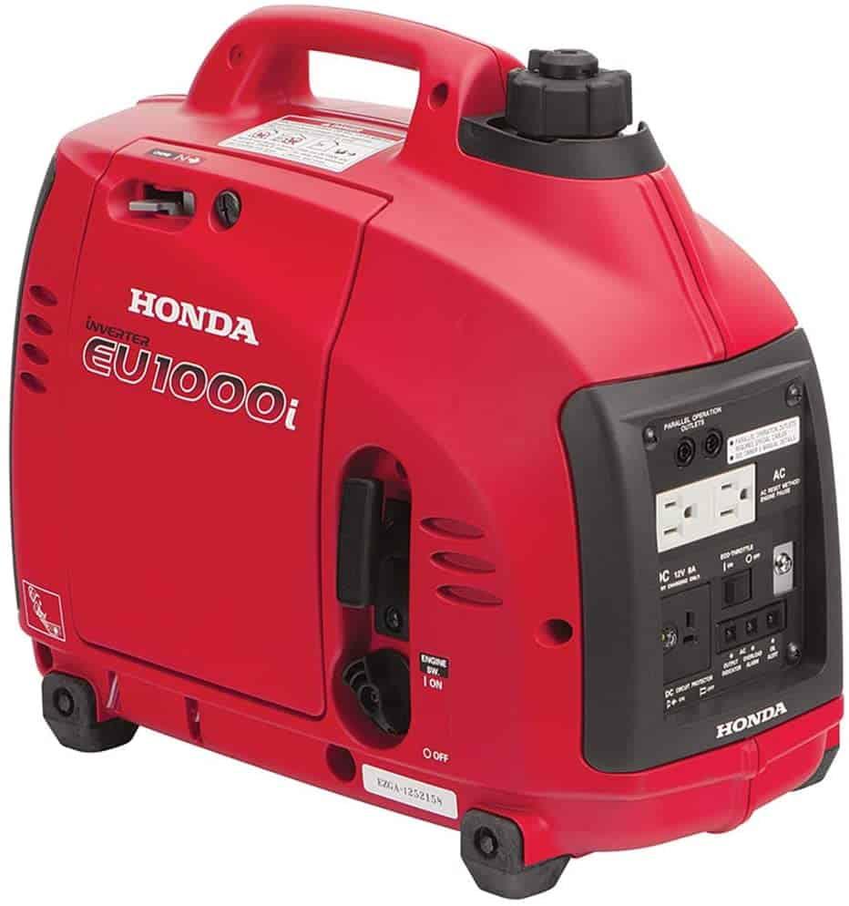 the Honda EU1000i portable generator, small but powerful