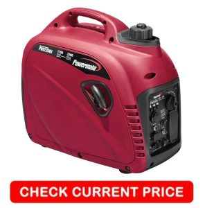 Powermate 2200 watt ultra quiet inverter generator