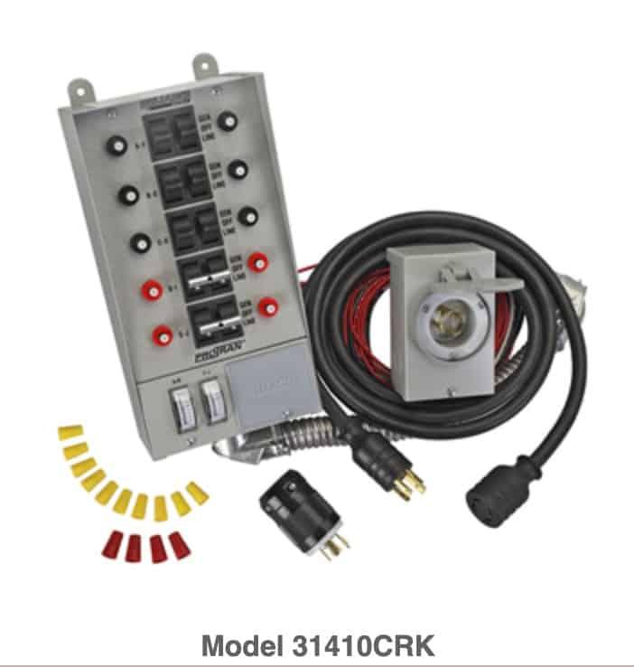 Reliance Controls Corporation 31410CRK Generator Transfer Switch Kit