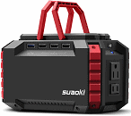 SUAOKI Portable Power Station, 150Wh 100W