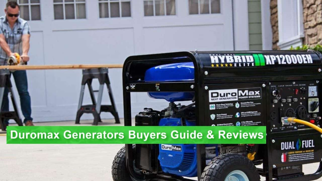 best DuroMax generator, the XP12000EH