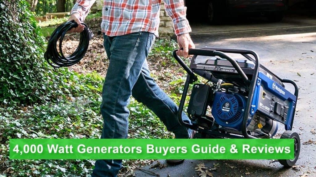 the best 4000 watt generator on the market today