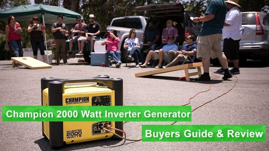 The Champion 2000 Watt Inverter Generator is a crowd pleaser